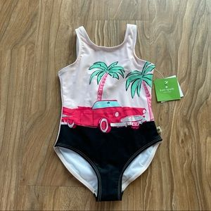 NWT Kid's Kate Spade One Piece Swimming Suit